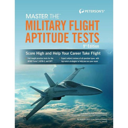 Master the Military Flight Aptitude Tests - 9 Edition (Paperback) - image 1 of 1