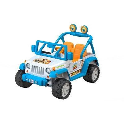 Power Wheels 12V Disney Pixar Toy Story Jeep Wrangler Powered Ride-On