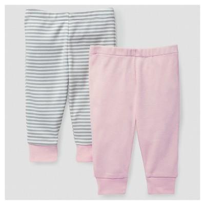 Skip Hop Baby Girls' Boho Feathers Pants Set - Pink 6M
