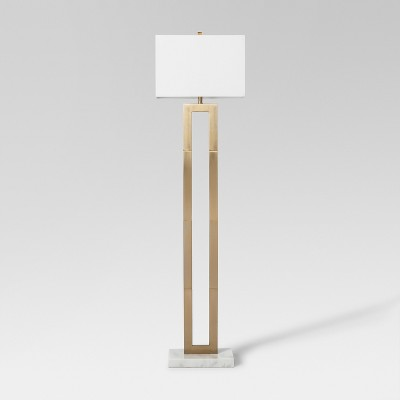 Weston Window Pane Floor Lamp Brass Lamp Only - Project 62™