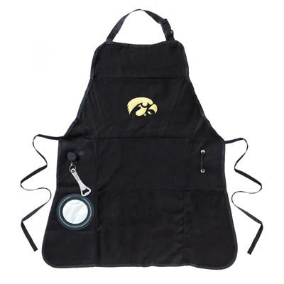 University of Iowa Hawkeyes Logo Mens Grilling Utility Apron