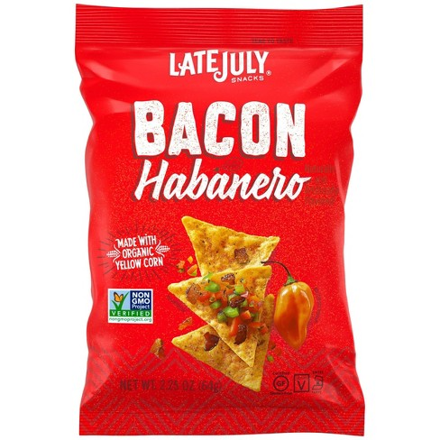 Late July Bacon Habanero Clasico Tortilla Chips - 2.25oz - image 1 of 4
