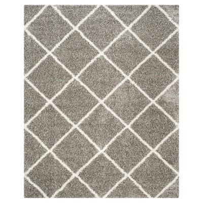 Hudson Shag Rug - Gray/Ivory - (8'X10')- Safavieh