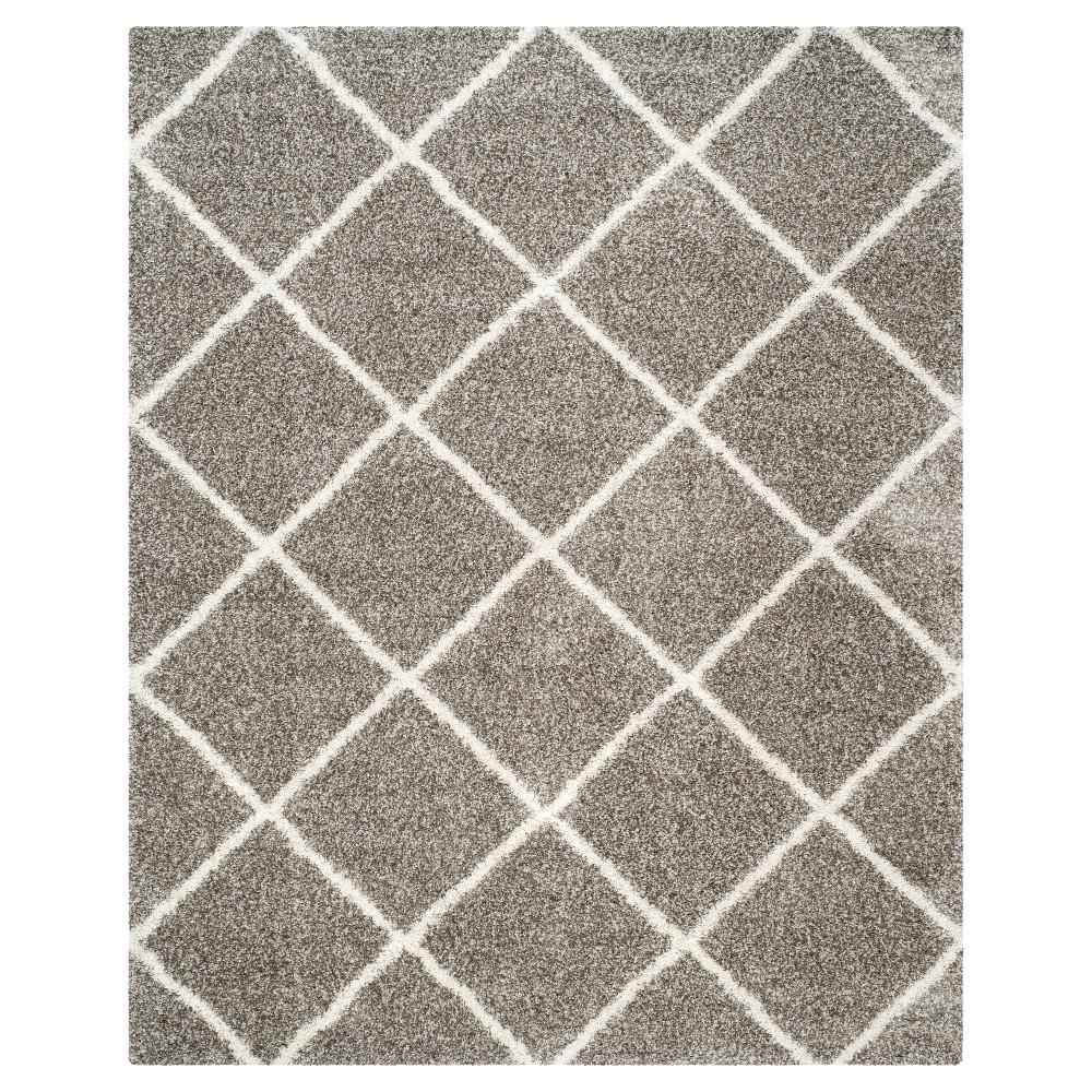 Hudson Shag Rug - Gray/Ivory - (11'X15') - Safavieh