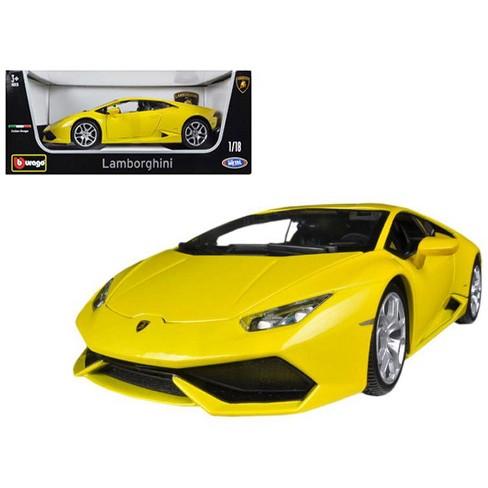 Lamborghini Huracan Lp610 4 Yellow 1 18 Diecast Car Model By Bburago