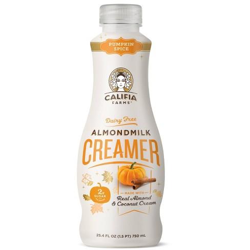 Califia Farms Dairy-Free Pumpkin Spice Almondmilk Creamer - 24.5 fl oz - image 1 of 3