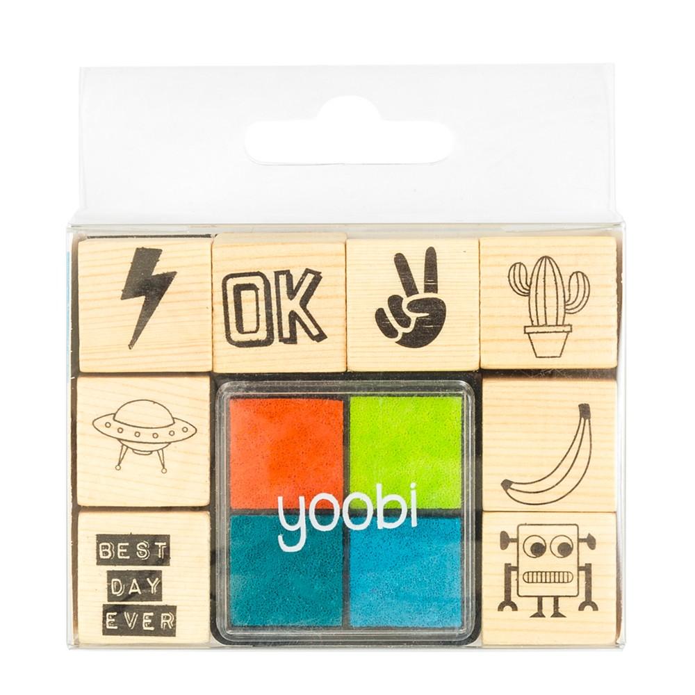 Image of Stamp Set 12pc Best Day Ever - Yoobi
