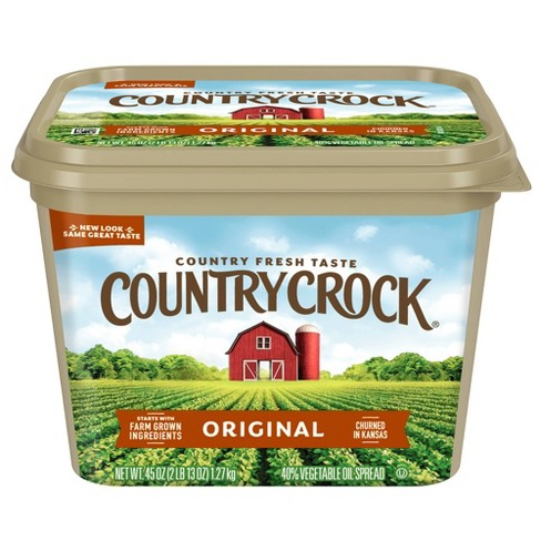 Country Crock Original Vegetable Oil Spread Tub - 45oz - image 1 of 4