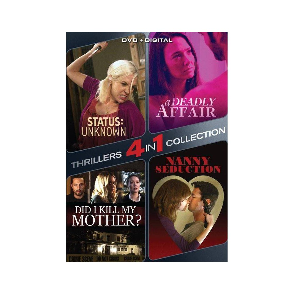 4 In 1 Dramatic Thrillers Dvd