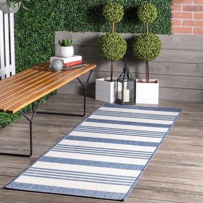 nuLOOM Robin Striped Indoor/Outdoor Area Rug