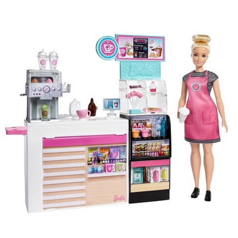 Barbie You Can Be Anything Coffee Shop Playset Target