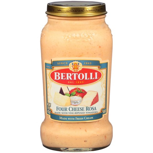 Bertolli Four Cheese Rosa Creamy Alfredo Pasta Sauce 15oz Target