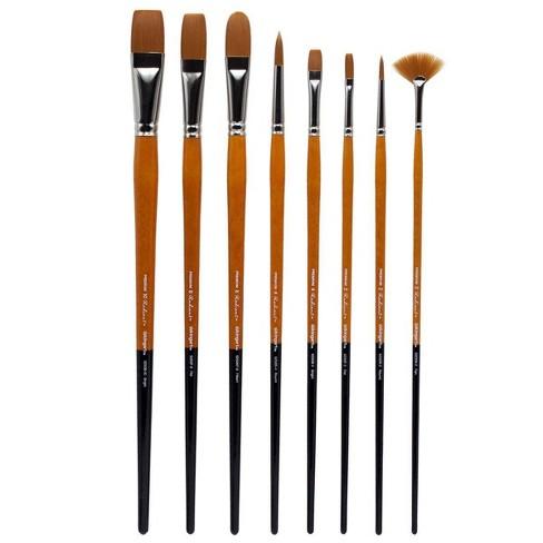 Kingart 8ct Radiant Brush Set - Long handle - image 1 of 4