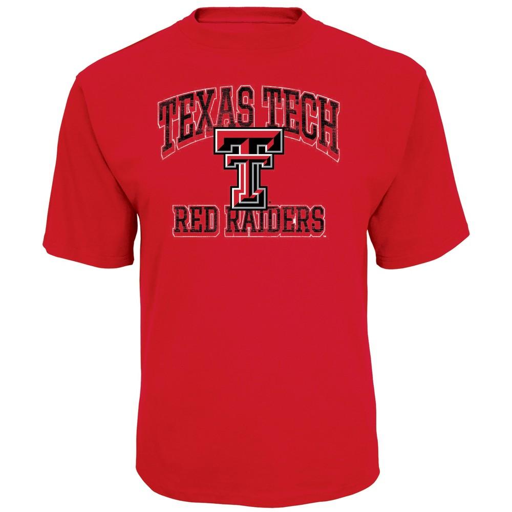 NCAA Men's Short Sleeve TC T-Shirt Texas Tech Red Raiders - Xxl, Multicolored