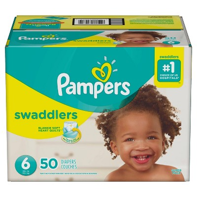Pampers Swaddlers Diapers Super Pack - Size 6 (50ct)