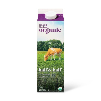 Organic Half & Half - 1qt - Good & Gather™
