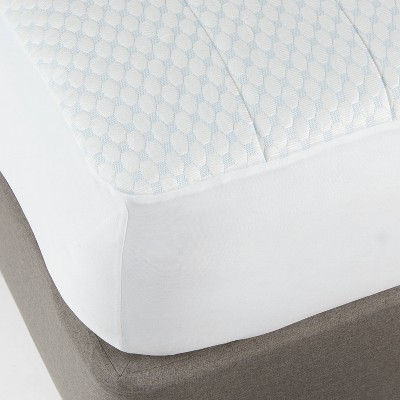 Cool Touch Mattress Pad (Queen)White - Made By Design™