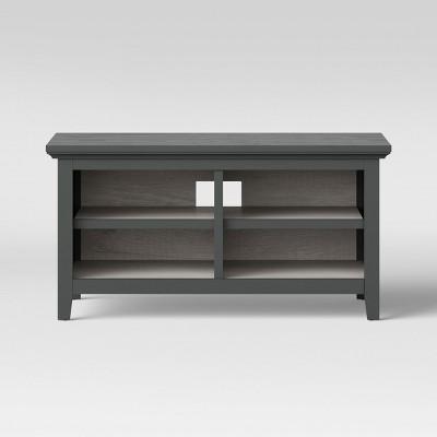 43  Carson TV Stand Gray - Threshold™