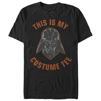 Men's Star Wars Halloween This is My Darth Vader Costume T-Shirt