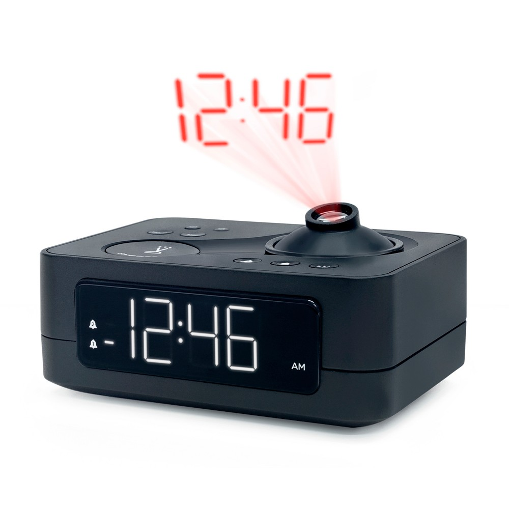 Image of Project Time Table Clock Black - Capello
