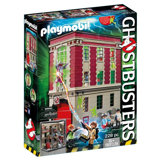 Playmobil Ghostbusters Firehouse image number null