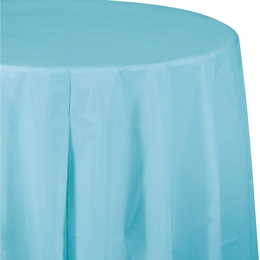 Pastel Blue Disposable Tablecloth Reviews