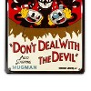 Just Funky Cuphead Collectibles | Cuphead Don't Deal With The Devil Tin Sign - image 3 of 4