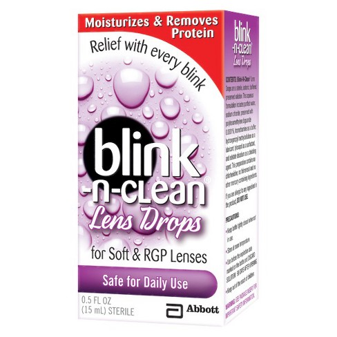 Blink N Clean Daily Use Lens Drops - 0.5 oz - image 1 of 1