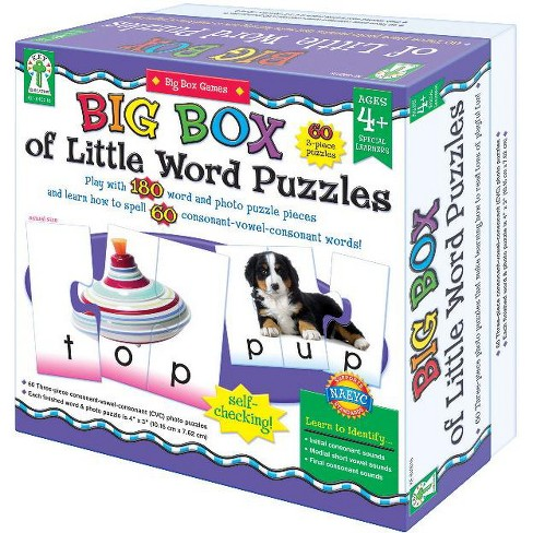 Key Education 180-Piece Big Box of Little Word Puzzles - image 1 of 1