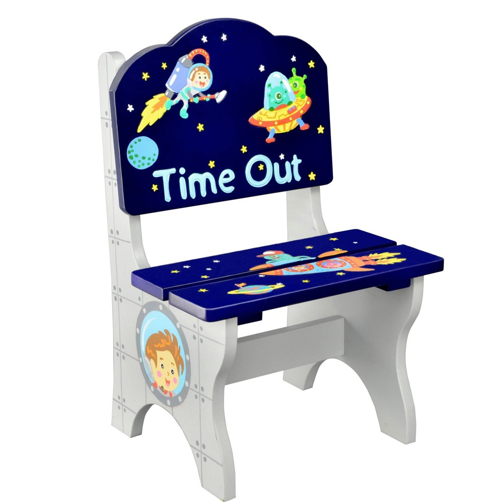 Image of Outer Space Fantasy Fields Time Out Chair - Teamson Kids
