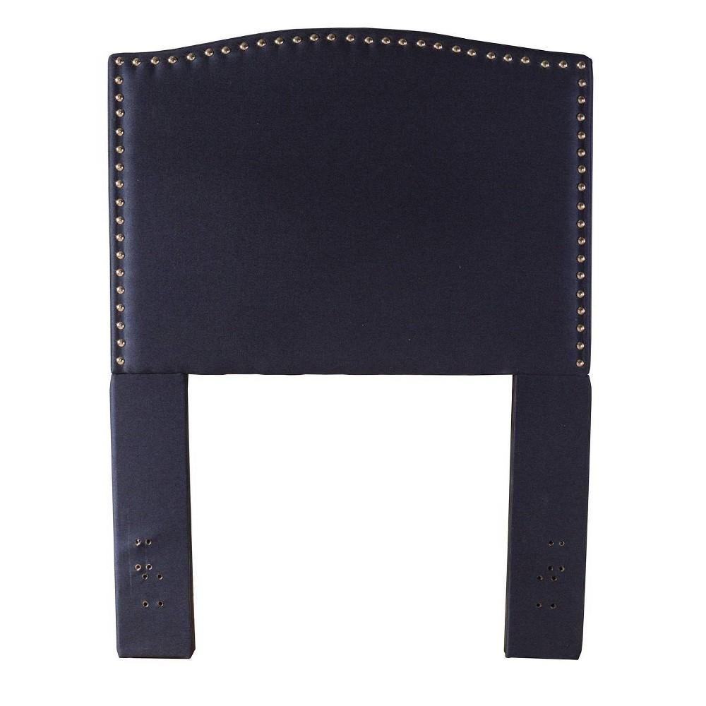 Twin Kerstein Fabric Headboard Navy Hillsdale Furniture