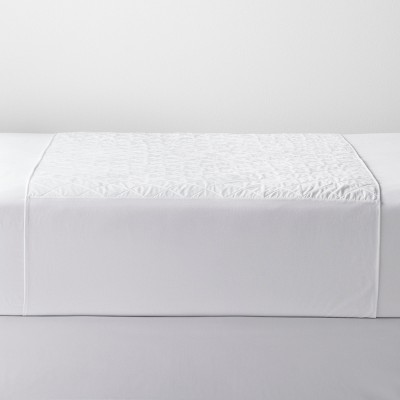 Waterproof Sheet Protector (Full/Queen)White - Made By Design™