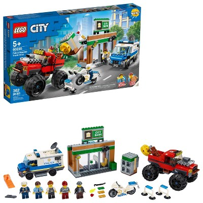Lego City Police Monster Truck Heist Building Set For Kids 60245 Target