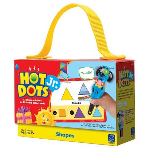 Hot Dots Jr. Cards - Shapes - image 1 of 1