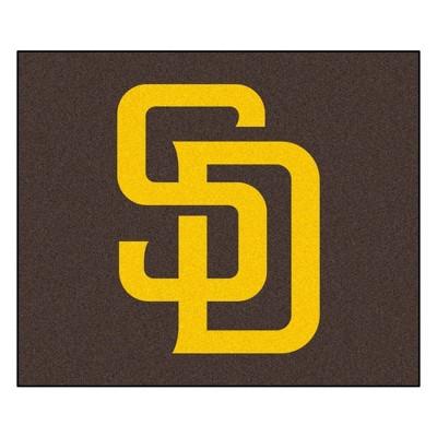 MLB San Diego Padres 5'x6' Rug