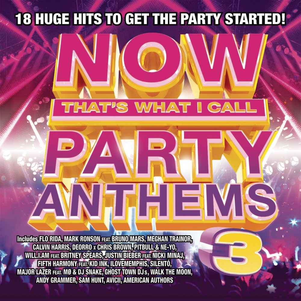 Now - Party Anthems 3, Pop Music