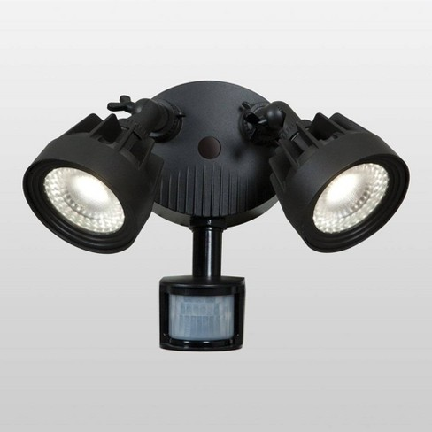 Stealth Led Outdoor Wall Light Black Access Lighting
