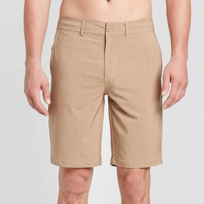 "Men's 10.5"" Rotary Hybrid Shorts - Goodfellow & Co™ Roasted Almond"
