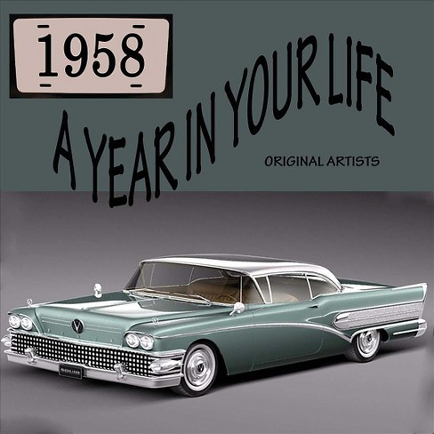 Various - Year in your life 1958 (CD) - image 1 of 1