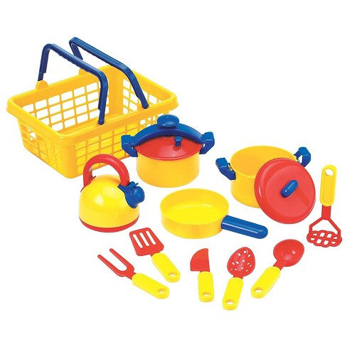 Educational Insights Pots N Pans Set Kitchen Toys Pretend Of 13 Ages 3 Target
