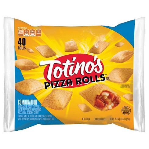 Totino's Combination Frozen Pizza Rolls - 40ct/19.8oz - image 1 of 1