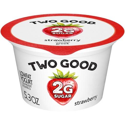 Two Good Strawberry Greek Style Yogurt - 5.3oz - image 1 of 4