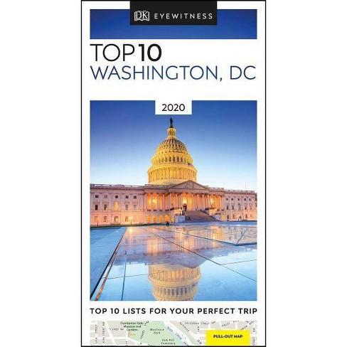 DK Eyewitness Top 10 Washington, DC - (Pocket Travel Guide) (Paperback) - image 1 of 1