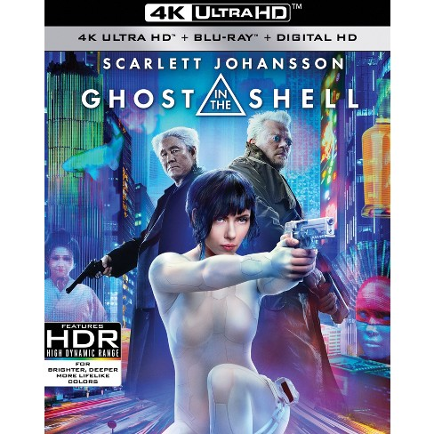 Ghost In The Shell 4k Uhd Target