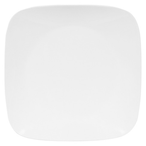 """Corelle Rounded Square Glass Dinner Plate 10.5 """" White - image 1 of 1"""
