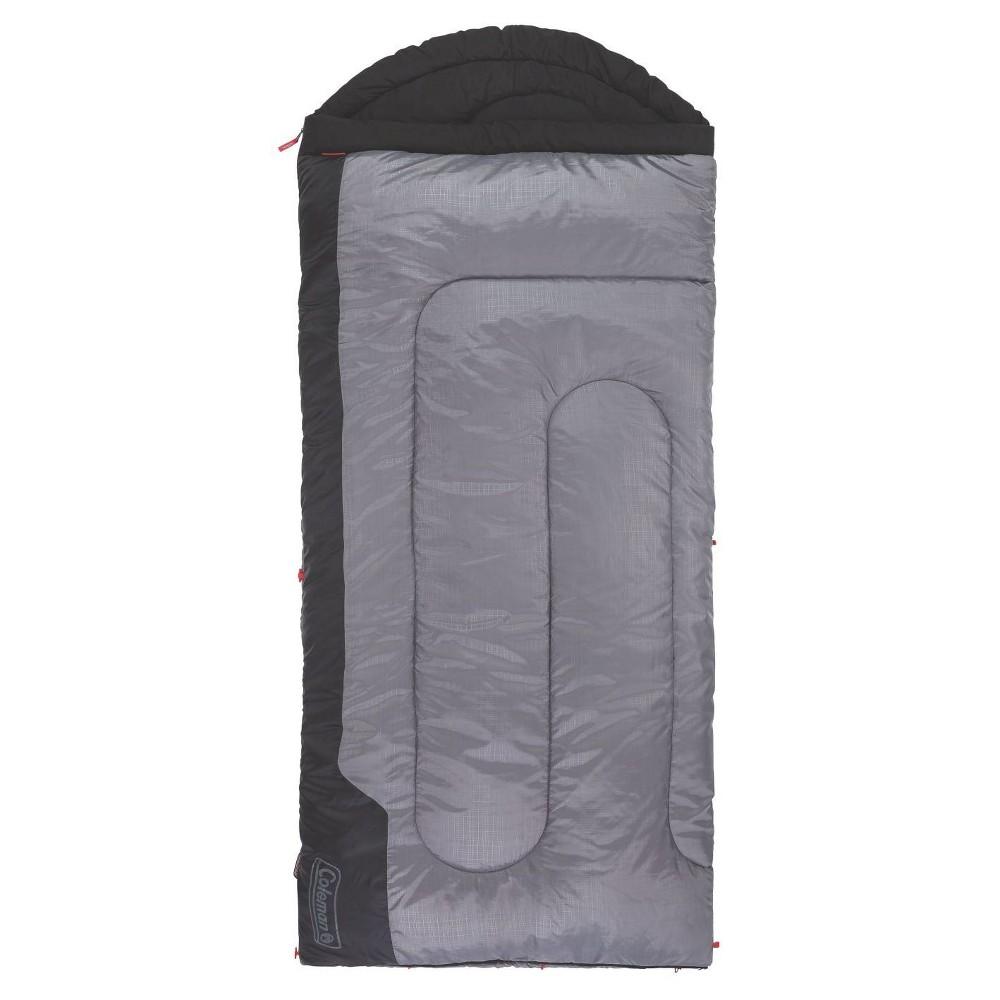 Coleman Torrey 30 Degree Big And Tall Sleeping Bag Black Gray