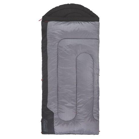 Coleman Torrey 30 Degree Big and Tall Sleeping Bag - Black/Gray - image 1 of 3