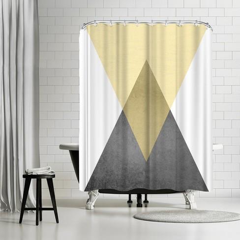 Americanflat Geometric Art 57 By Pop Monica 71 X 74 Shower Curtain Target