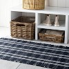 Windsong Indoor/Outdoor Plaid Scatter Rug Navy - Threshold™ designed with Studio McGee - image 2 of 4