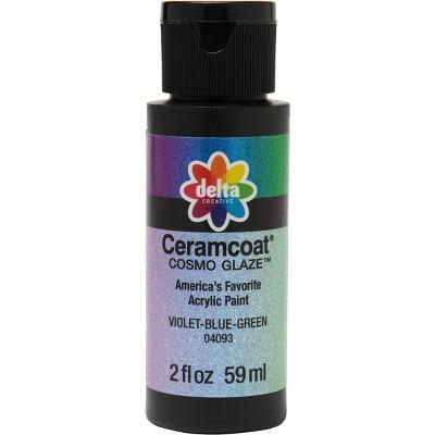Delta Ceramcoat Cosmo Glaze Acrylic Paint (2oz) - Violet-Blue-Green